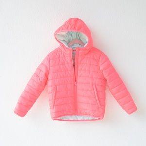 Cat & Jack pink puffer jacket
